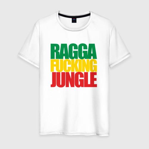 Мужская футболка хлопок Ragga Fucking Jungle