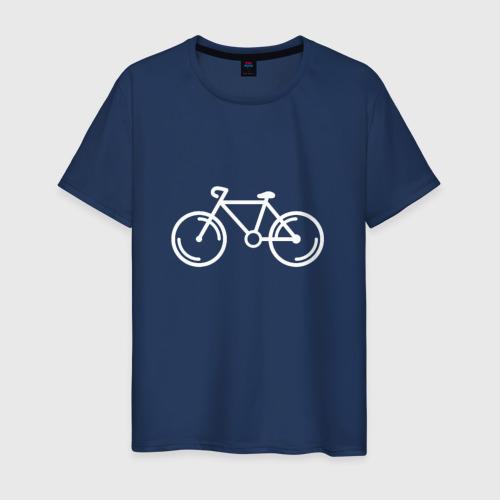 Мужская футболка хлопок Велосипедист