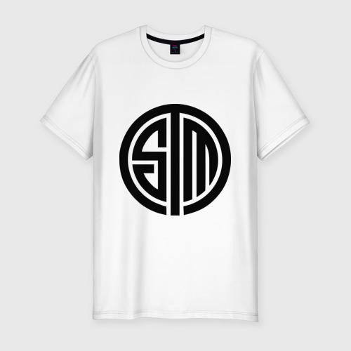 Мужская футболка хлопок Slim SoloMid