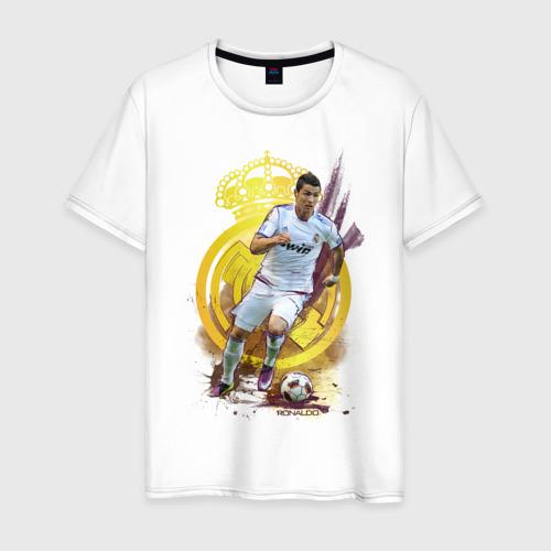 Мужская футболка хлопок Ronaldo