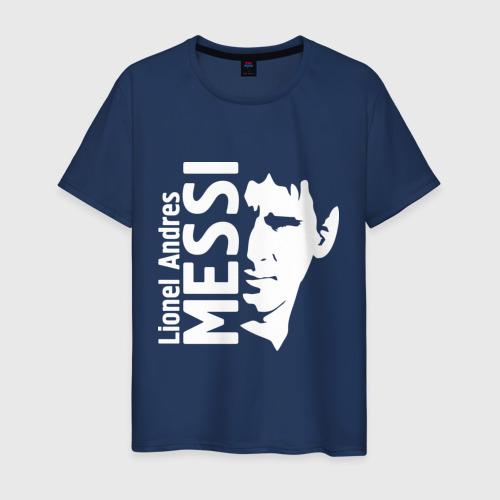 Мужская футболка хлопок Messi