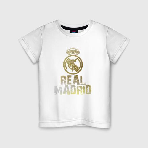 Детская футболка хлопок Real Madrid