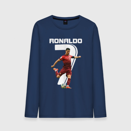 Мужской лонгслив хлопок Ronaldo