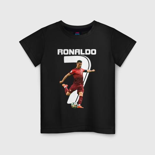 Детская футболка хлопок Ronaldo