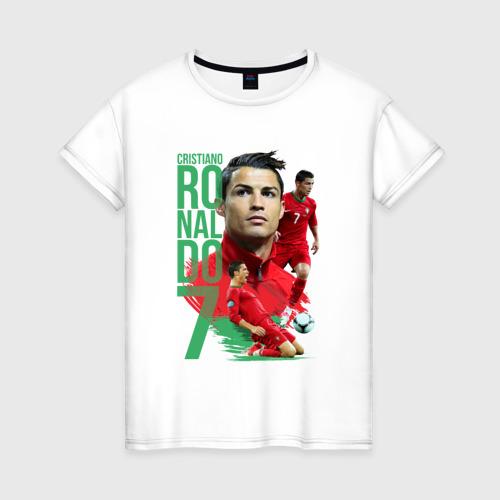 Женская футболка хлопок Ronaldo