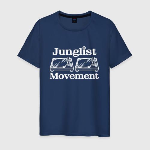 Мужская футболка хлопок Junglist Movement