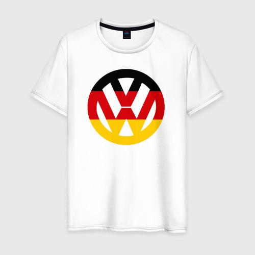 Мужская футболка хлопок Wolksvagen