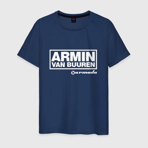 Мужская футболка хлопок Armin van Buuren