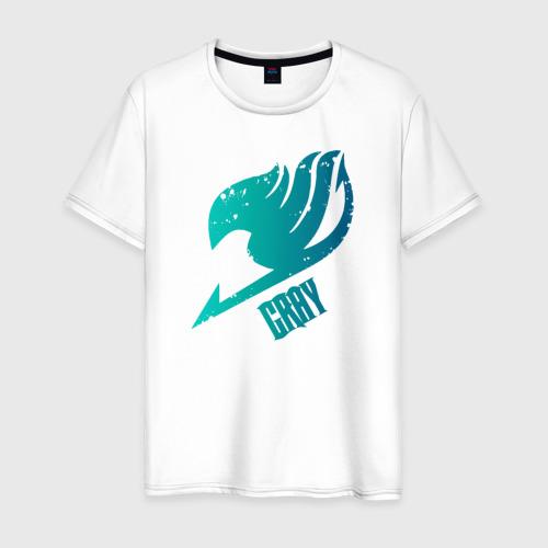 Мужская футболка хлопок Грей