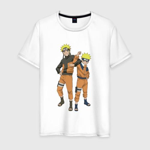Мужская футболка хлопок Наруто
