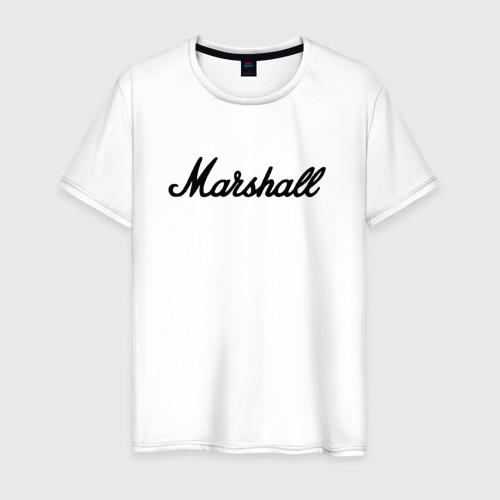 Мужская футболка хлопок Marshall logo