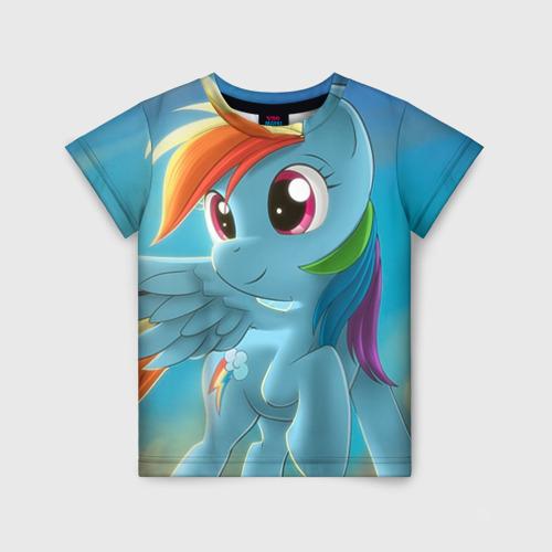 Детская футболка 3D My littlle pony
