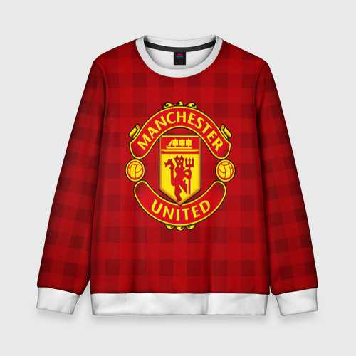 Детский свитшот 3D Manchester united