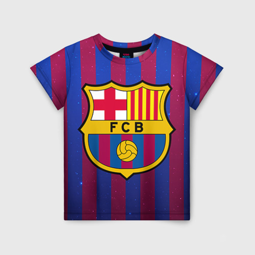 Детская футболка 3D Барселона