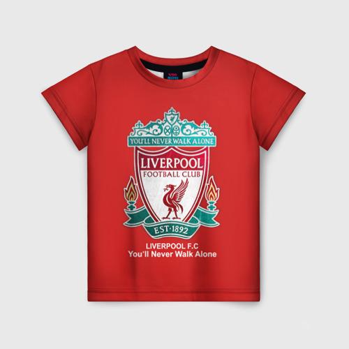 Детская футболка 3D Liverpool