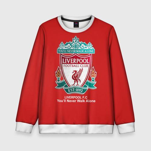 Детский свитшот 3D Liverpool