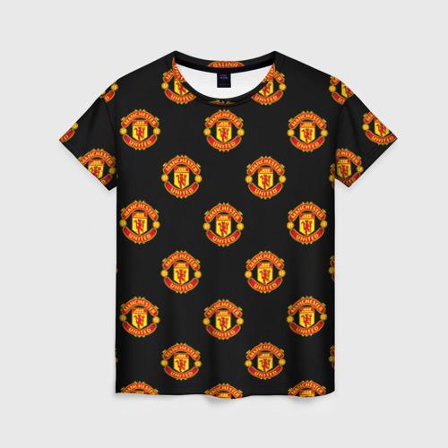 Женская футболка 3D Manchester United