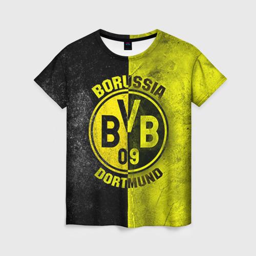 Женская футболка 3D BVB