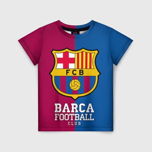 Детская футболка 3D Barca