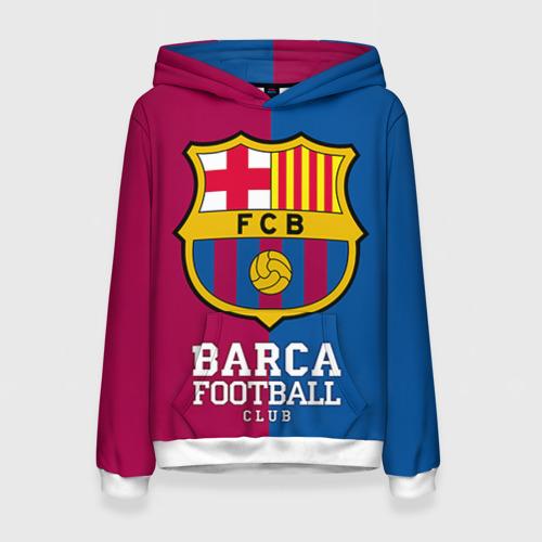 Женская толстовка 3D Barca
