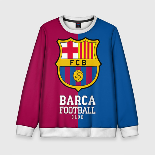 Детский свитшот 3D Barca