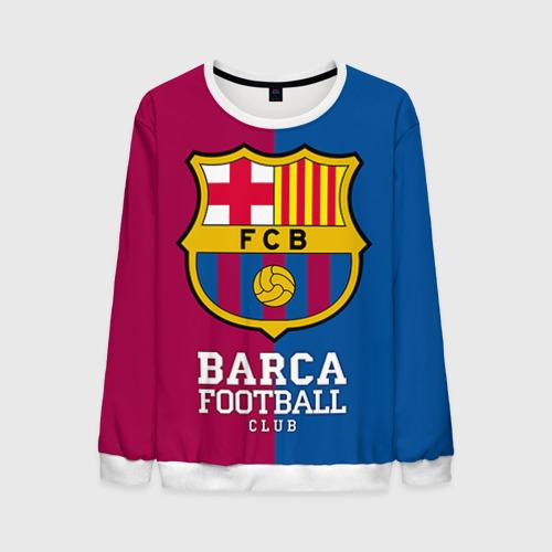 Мужской свитшот 3D Barca