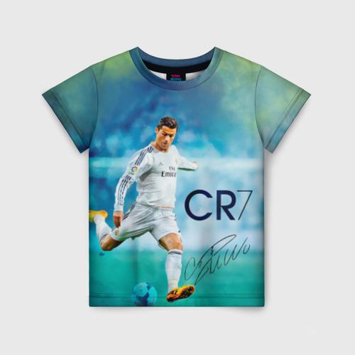 Детская футболка 3D Ronaldo