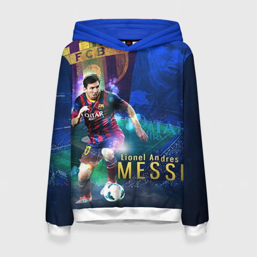 Женская толстовка 3D Messi