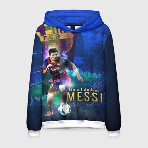 Мужская толстовка 3D Messi