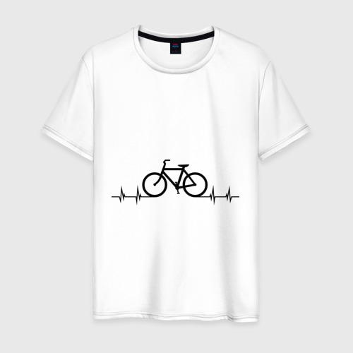 Мужская футболка хлопок Велоспорт