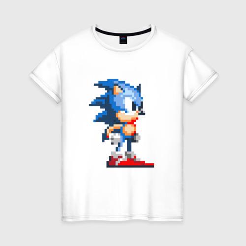 Женская футболка хлопок Sonic