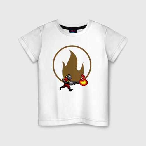 Детская футболка хлопок Pyro