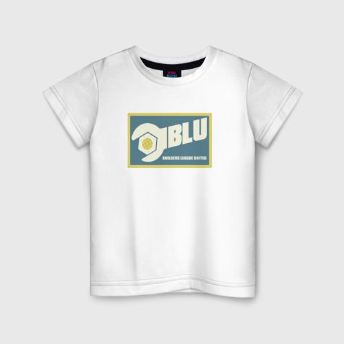 Детская футболка хлопок BLU