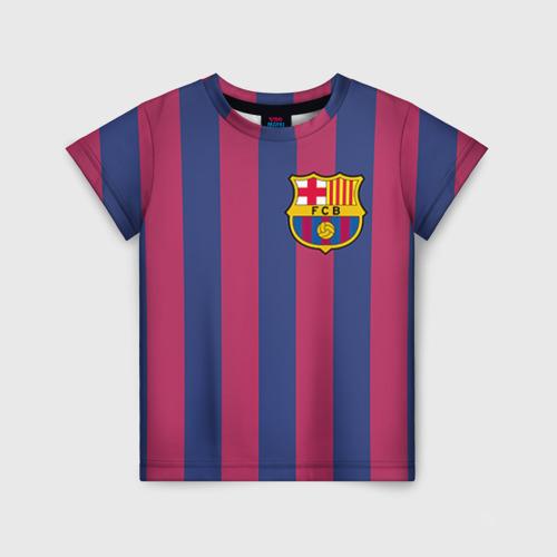 Детская футболка 3D A. Iniesta