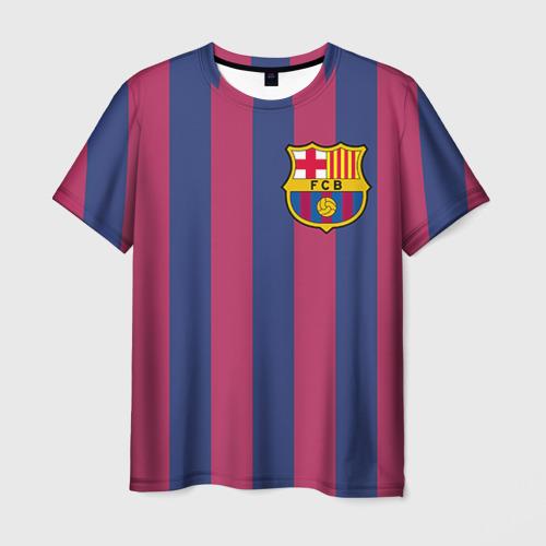 Мужская футболка 3D A. Iniesta