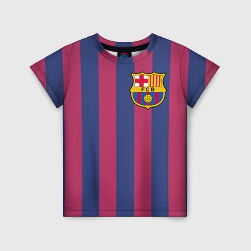 Детская футболка 3D Messi