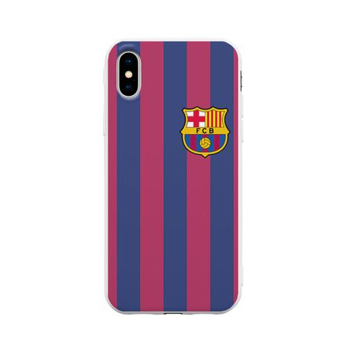 Чехол для iPhone X матовый Messi