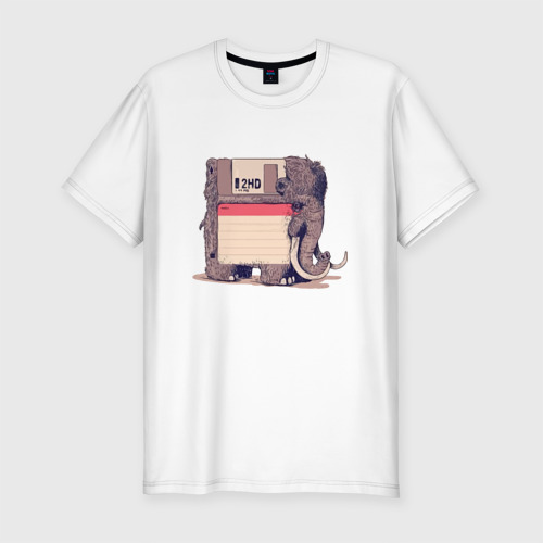 Мужская футболка хлопок Slim Вымершие виды