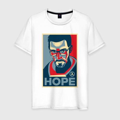 Мужская футболка хлопок Half-Life HOPE