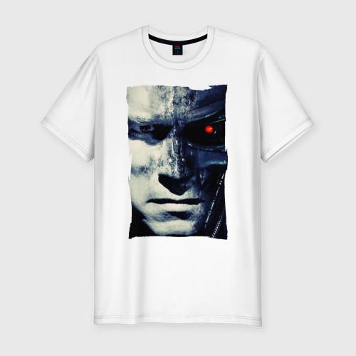 Мужская футболка хлопок Slim Терминатор