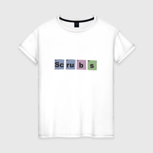 Женская футболка хлопок Клиника