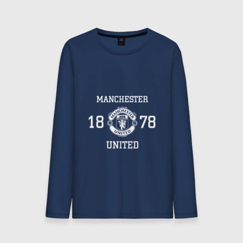 Мужской лонгслив хлопок Manchester United 1878