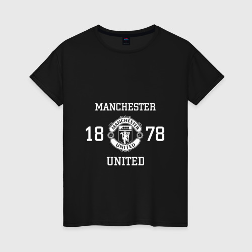 Женская футболка хлопок Manchester United 1878