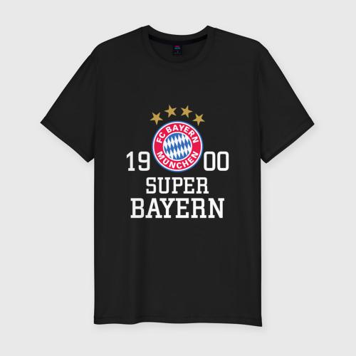 Мужская футболка хлопок Slim Super Bayern