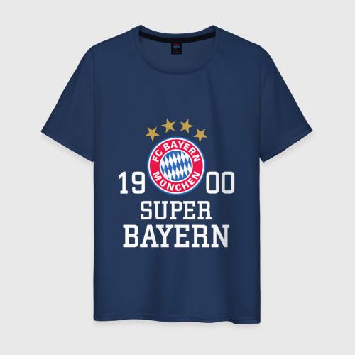 Мужская футболка хлопок Super Bayern