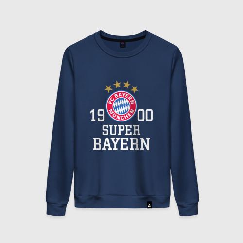 Женский свитшот хлопок Super Bayern