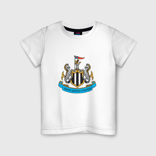 Детская футболка хлопок Ньюкасл