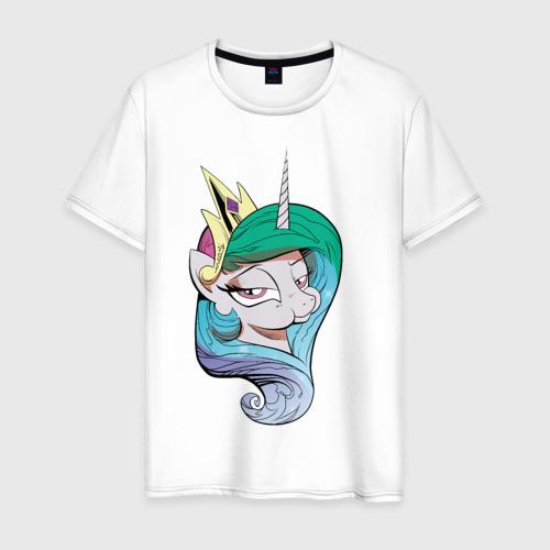 Мужская футболка хлопок Princess Celestia