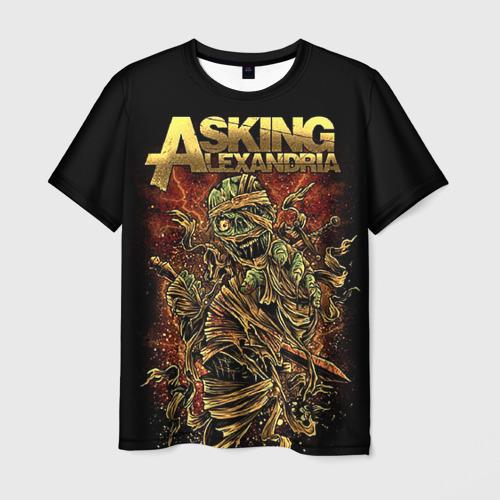 Мужская футболка 3D Alexandria
