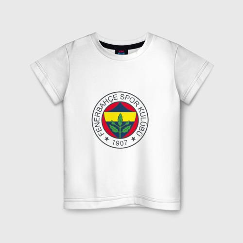Детская футболка хлопок Фенербахче